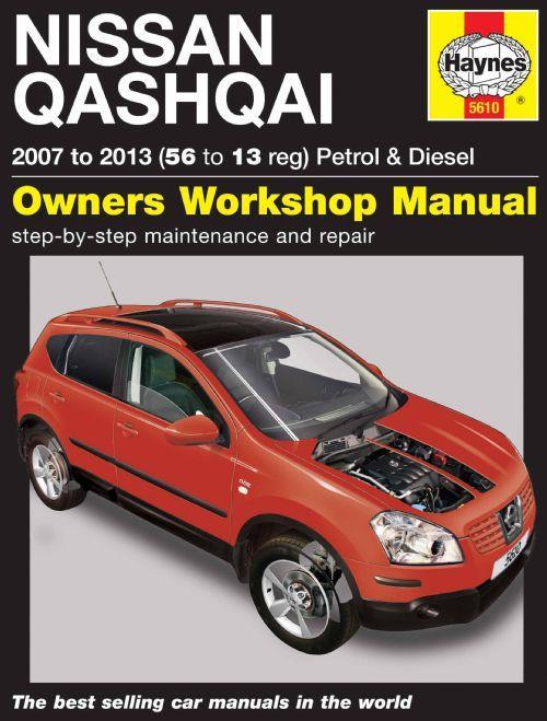 Nissan Qashqai (Dualis) 2007 - 2013 Haynes Owners Service & Repair Manual - Front Cover