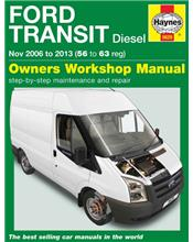Ford Transit Diesel 2006 - 2013 Haynes Owners Service & Repair Manual