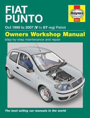 Fiat Punto (Petrol) 1999 - 2007 Haynes Owners Service & Repair Manual