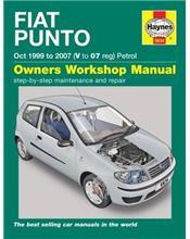 Fiat Punto (Petrol) 1999 - 2007 Haynes Owners Service & Repair Manual