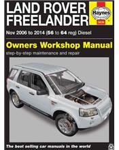 Land Rover Freelander Diesel 2006 - 2014 Haynes Owners Service & Repair Manual