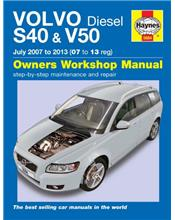 Volvo S40 & V50 Diesel 2007 - 2013 Haynes Owners Service & Repair Manual