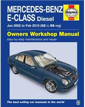 Mercedes-Benz E-Class Diesel 2002 - 2010 Haynes Owners Service & Repair Manual