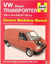 VW T4 Transporter (Diesel) 1990 - 2003 Haynes Owners Service & Repair Manual