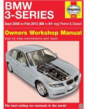 BMW 3-Series (Petrol & Diesel) 2008 - 2012 Haynes Owners Service & Repair Manual