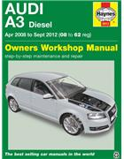 Audi A3 Diesel 2008 - 2012 Haynes Owners Service & Repair Manual
