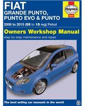 Fiat Grande Punto. Punto Evo & Punto Haynes Owners Service & Repair Manual