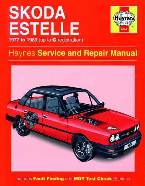 Skoda Estelle 1977 - 1989 Haynes Owners Service & Repair Manual - Front Cover