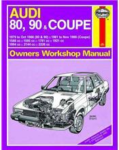 Audi 80, 90 & Coupe 1979 - 1988 Haynes Owners Service & Repair Manual