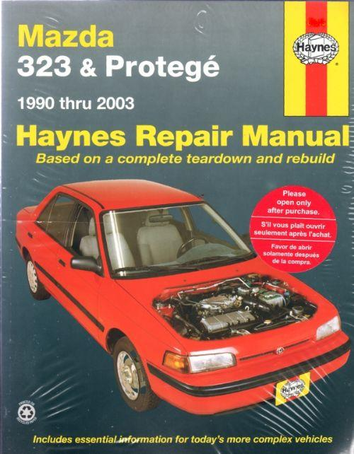 Mazda 323 Protege 1990 - 2003 Haynes Owners Service & Repair Manual - Front Cover