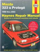 Mazda 323 Protege 1990 - 2003 Haynes Owners Service & Repair Manual
