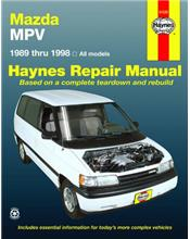 Mazda MPV 1989 - 1998 Haynes Owners Service & Repair Manual