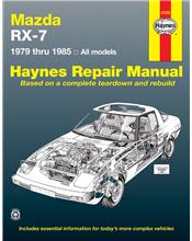 Mazda RX-7 (Petrol) 1979 - 1985 Haynes Owners Service & Repair Manual