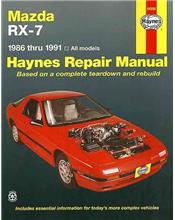 Mazda RX-7 (Petrol) 1986 - 1991 Haynes Owners Service & Repair Manual