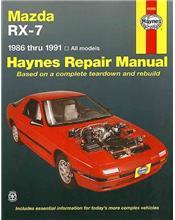 Mazda RX-7 1986 - 1991 Haynes Owners Service & Repair Manual