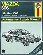 Mazda 626 (RWD) 1979 - 1982 Haynes Owners Service & Repair Manual - Front Cover