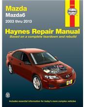 Mazda6 Petrol 2003 - 2013 Haynes Owners Service & Repair Manual