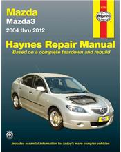 Mazda3 (Australian Models) 2004 - 2012 Haynes Owners Service & Repair Manual