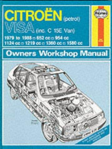 Citroen Visa 1979 - 1988 Haynes Owner's Workshop Manual
