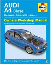 Audi A4 (Diesel) 2008 - 2015 Haynes Owners Service & Repair Manual