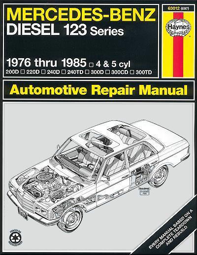 Mercedes-Benz Diesel 1976 - 1985 Haynes Owners Service & Repair Manual - Front Cover