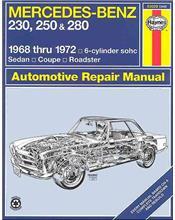 Mercedes-Benz 230, 250 & 280 1968 - 1972 Haynes Owners Service & Repair Manual