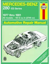 Mercedes-Benz 280 (123 Series) 1977 - 1981 Haynes Owners Service & Repair Manual