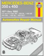 Mercedes Benz 350 & 450 1971 - 1980 Haynes Owners Service & Repair Manual