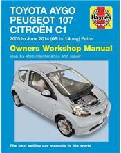 Toyota Aygo / Peugeot 107 /Citroen C1 (Petrol) 2005 - 2014