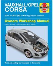 Vauxhall / Opel Corsa Petrol & Diesel 2011 - 2014