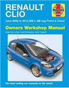 Renault Clio 2009 - 2012 Haynes Owners Service & Repair Manual
