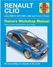 Renault Clio 2009 - 2012 Haynes Owners Service & Repair Manual