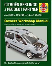 Citroen Berlingo & Peugeot Partner Diesel 2008 - 2016