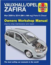 Vauxhall/Opel Zafira Petrol & Diesel 2009 - 2014