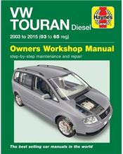 Volkswagen Touran Diesel 2003 - 2015 Haynes Owners Service & Repair Manual