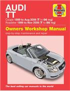 Audi TT 1999 - 2006 Haynes Owners Service & Repair Manual