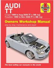 Audi TT (Petrol) 1999 - 2006 Haynes Owners Service & Repair Manual