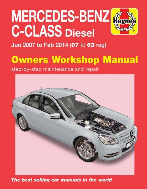 Mercedes-Benz C-Class Diesel (W204 Series) 2007 - 2014 - Front Cover