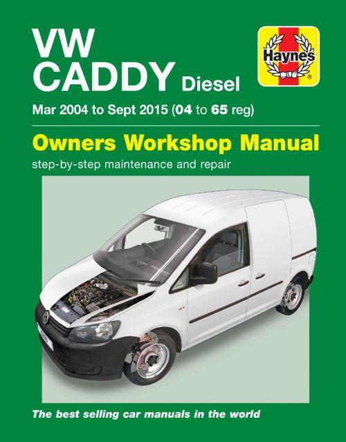 Volkswagen Caddy Diesel 2004 - 2015 Haynes Owners Service & Repair Manual
