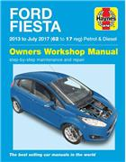 Ford Fiesta Petrol & Diesel 2013 - 2017 Haynes Owners Service & Repair Manual