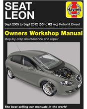 Seat Leon 2005 - 2012 Haynes Owners Service & Repair Manual
