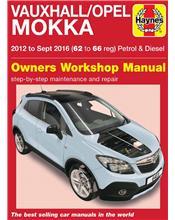 Vauxhall Mokka petrol & diesel 2012 - 2016 Haynes Owners Service & Repair Manual
