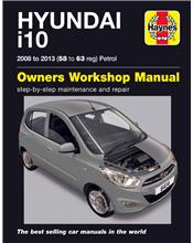 Hyundai i10 (Petrol) 2008 - 2013 Haynes Owners Service & Repair Manual