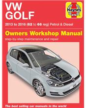 VW Golf Petrol & Diesel 2013 - 2016 Haynes Owners Service & Repair Manual