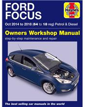 Ford Focus Petrol & Diesel 2014 - 2018 Haynes Owners Service & Repair Manual
