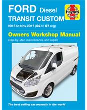 Ford Transit Custom (Diesel) 2013 - 2017 Owners Workshop Manual