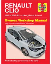 Renault Clio 2013 - 2018 Owners Workshop Manual