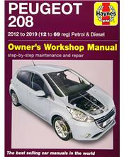 Peugeot 208 (Petrol & Diesel) 2012 - 2019 Haynes Owners Service & Repair Manual