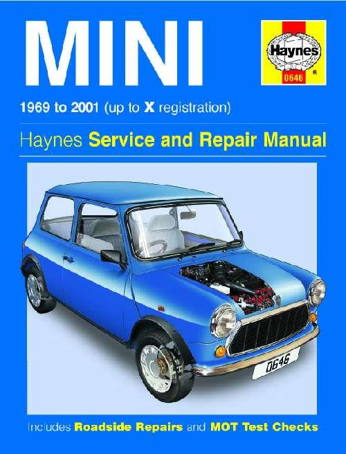 Mini 1969 - 2001 Haynes Owners Service & Repair Manual - Front Cover