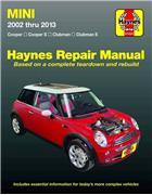 Mini Cooper & Cooper S 2002 - 2013 Haynes Owners Service & Repair Manual